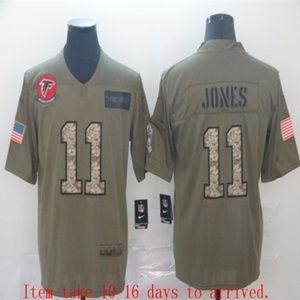 Atlanta Falcons Julio Jones Jersey Camo